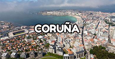 Hoteles con Toboganes en Coruña