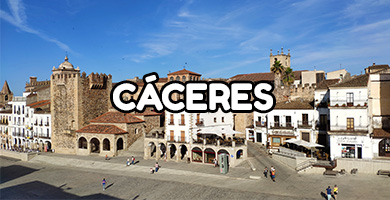 Hoteles con Toboganes en Caceres